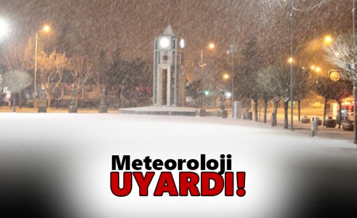 Meteoroloji'den Karaman İçin Uyarı