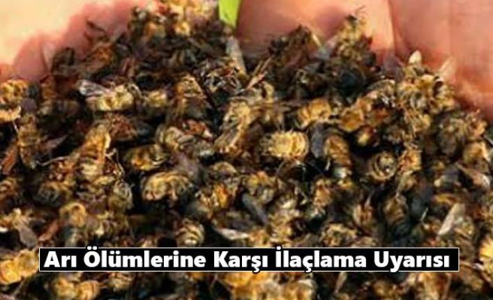 Arı Ölümlerine Karşı İlaçlama Uyarısı