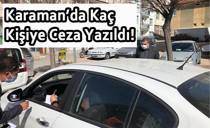 Karaman'da 5317 Vatadanşa Ceza Yazıldı