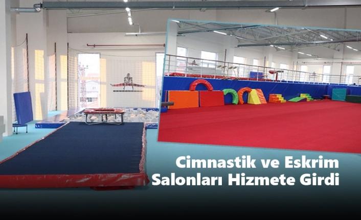 Karaman'da Cimnastik ve Eskrim Salonları Hizmete Girdi