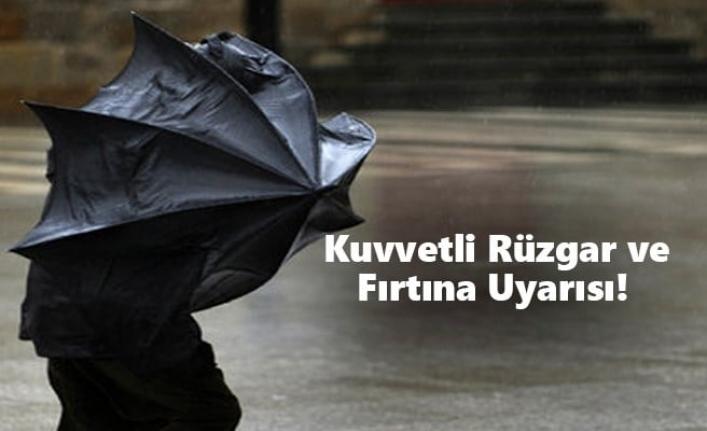 Meteoroloji'den Karaman İçin Kuvvetli Rüzgar ve Fırtına Uyarısı!
