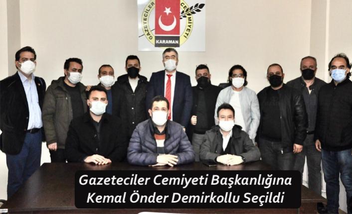 Gazeteciler Cemiyeti Başkanlığına Kemal Önder Demirkollu Seçildi