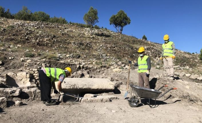 Ermenek'in Üç Antik Kentinde Kazılar Sürüyor