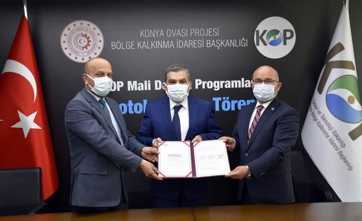 Karaman'a KOP'tan 10 Milyon Liralık Destek