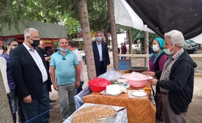 Başkan Çağlayan Ermenek'te