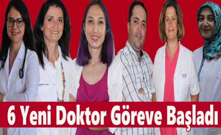 Karaman'a Atanan 6 Yeni Doktor Göreve Başladı