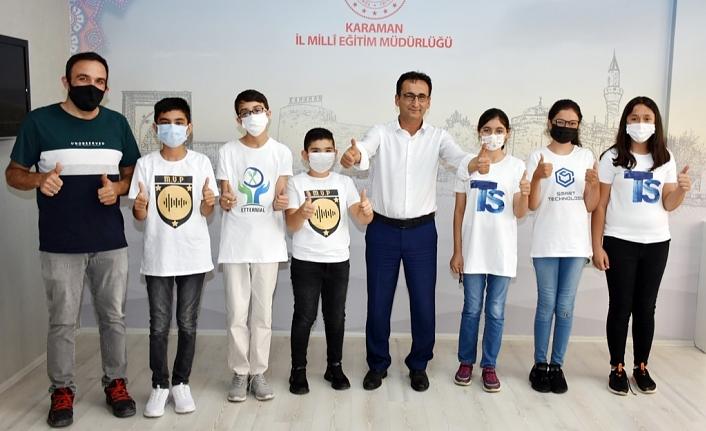 4 Projeyle TEKNOFEST'te Karaman'ı Temsil Edecekler