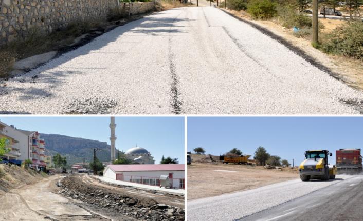 Ermenek'te Asfaltlama Çalışmaları Tamamlandı