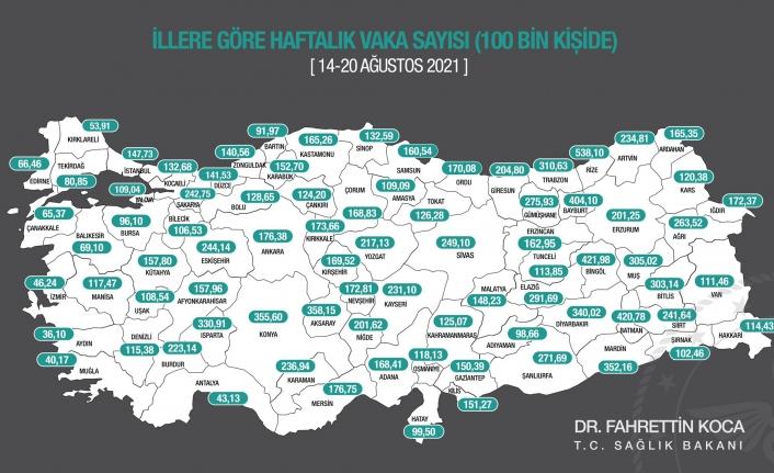 Karaman'da Vakalar Artıyor