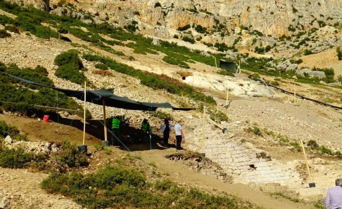 Karaman'da 'Sbide' Antik Kentindeki Kazı Çalışmaları Devam Ediyor