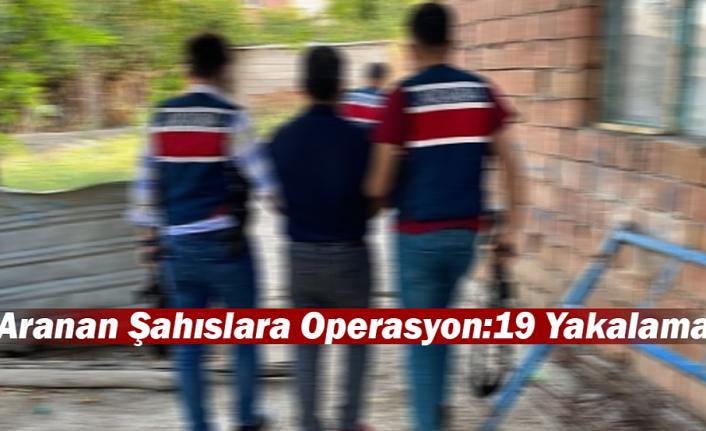 Karaman'da Aranan 19 Şahıs Jandarma Tarafından Yakalandı