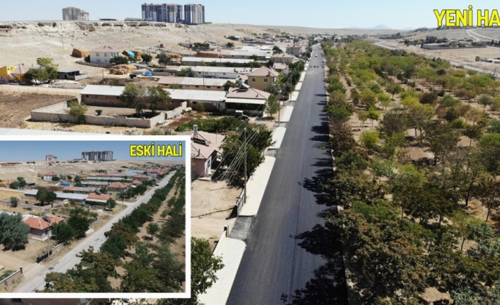 Urgan Mahallesi'nde Yollar Baştan Sona Yenilendi