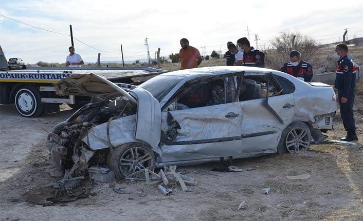 Ereğli'de Otomobil Takla Attı: 2 Yaralı