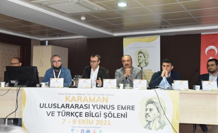 'Karaman Uluslararası Yunus Emre ve Bilgi Şöleni' Sona Erdi