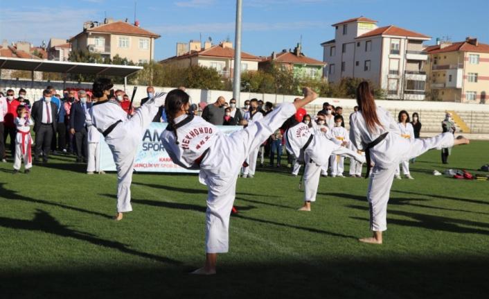 Karaman'da Spor Dolu Günler Başladı