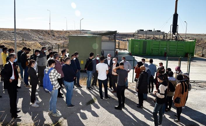 KMÜ'de Öğrenciler İçin Teknik Gezi Düzenlendi