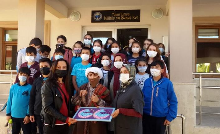Öğrencilerinden KMÜ'ye Ziyaret