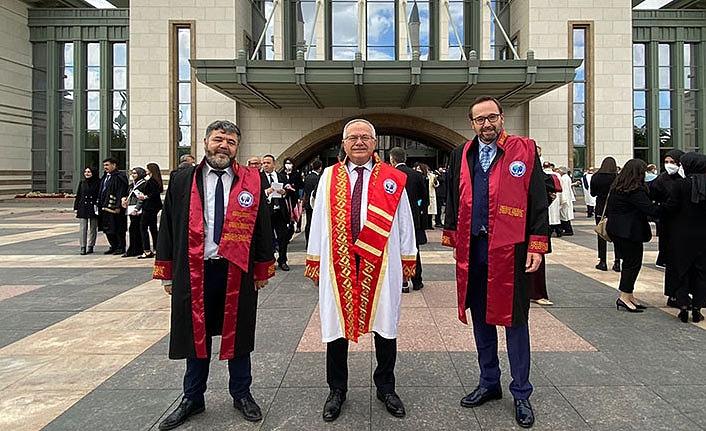 Rektör Ak, Cumhurbaşkanlığı Külliyesinde Açılış Törenine Katıldı