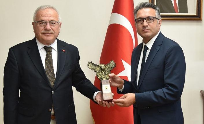 Selçuk Üniversitesi Rektöründen Rektör Ak'a Ziyaret
