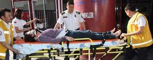 Kazada 6 Kisi Yaralandi