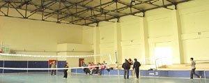 Basyayla Spor Salonuna Kavusacak
