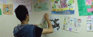 Çocuklar, Hayallerindeki Oyuncak Evini Resimlediler