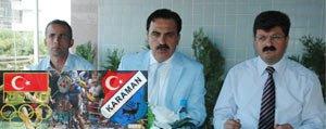 Gençlik ve Spor Il Müdürü Ersöz, Karaman'da...