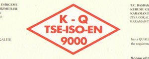 Il Sosyal Hizmetler Müdürlügü TSE-ISO-EN 9000...