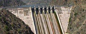 Barajdan Kanallara Su Verilecek