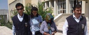 Dilenci Kiliginda Hirsizlik Yapan Kadin Tutuklandi