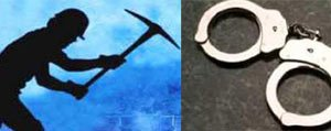 Kaçak Kazi Yapan Sahis Yakalandi