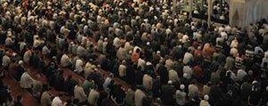 Bayram Namazina Cemaat Yogun Ilgi Gösterdi