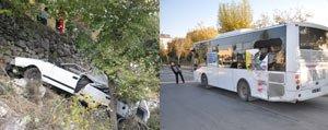 Iki Ayri Trafik Kazasinda Bir Kisi Öldü 5 Kisi Yaralandi