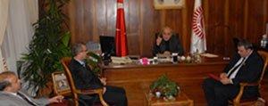 70 Karaman Spor Yönetimi'nden Elvan'a Ziyaret