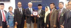 Elvan, Endonezya Bölgesel Temsilciler Meclisi Üyelerini...