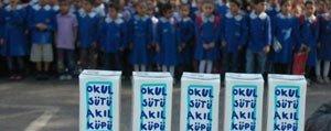 Okullarda Bedava Süt Subat Tatilinden Sonra Dagitilacak