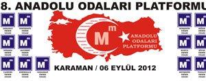 Anadolu Odalari Platformu Toplantisi Ilimizde Yapilacak