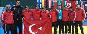 KMÜ'lü Güresçi Taha Akgül Dünya Sampiyonu...