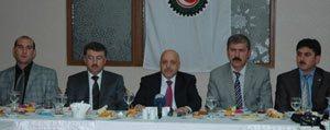 Hak-Is Konfederasyonu Genel Baskani Arslan Karaman'da