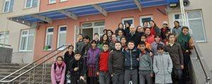 """Sabiha Gökçen Ortaokulu`ndan """"Dosta Selam"""" Projesi"""
