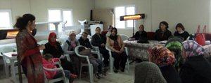 Demiryurt Köyü'nde Kadin Çiftçiler Egitildi