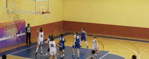 Basketbolda Konuk Takima Boyun Egdik