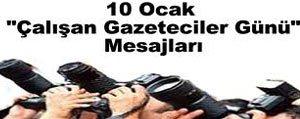 """Vali Murat Koca: """"Gazetecilerimizin Gününü Kutluyorum""""..."""