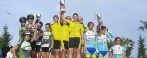 Yildiz Bayan Bisiklet Takimi Türkiye Sampiyonu Oldu