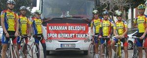 Türkiye 2.'Ligi Kupasini Alan Karaman Belediye...