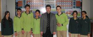 Karaman'in Sampiyonlari Yine Gevher Hatun Kolejinden