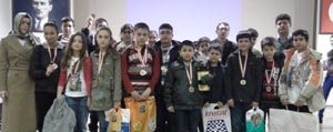 Özel Gevher Hatun Koleji Akil Oyunlarinda 13 Derece...
