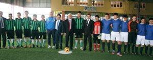 """""""Emniyet`ten Bir Yildiz Doguyor"""" Futbol Turnuvasi..."""