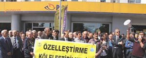 PTT Çalisanlari Is Birakacak
