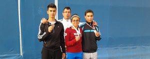 Tenisçilerden Madalya Yagmuru